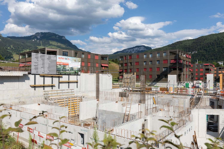 Wohnüberbauung Mythen-Hof, Ibach