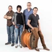 Das Büro Team der Inderbitzin + Kälin AG
